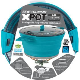 Sea to Summit X-Pot Esmalte, 2,8 Litros, pacific blue